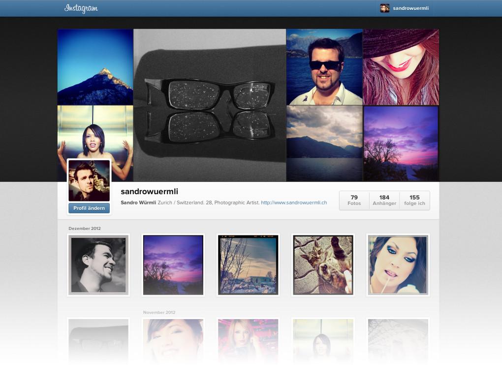 Instagram Titel
